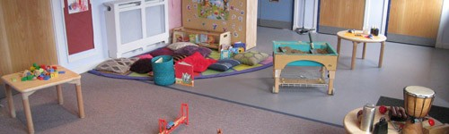 Cradle-Hall Toddler Room 2
